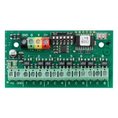 JB-118N Signální modul výstupů, sběrnicové provedení, 8x 100mA