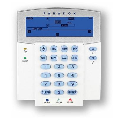 K37-868 Bezdrátová ICON klávesnice s displejem pro ústředny SP/MG