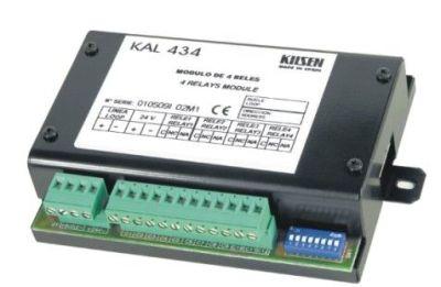 KAL-434C Adresovatelný modul 4 relé pro řadu 1500