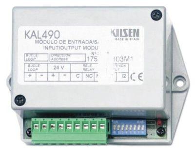 KAL-490 Adresovatelný modul 1 vstup a 1 výstup pro řadu 1500