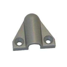KH-10-S Plastová koncovka pancéřové hadice - šedá