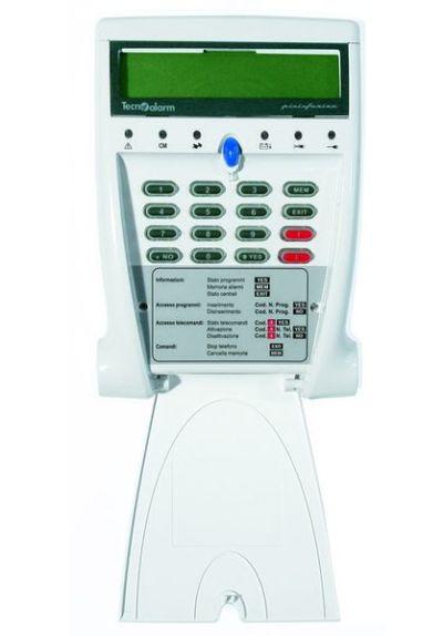 LCD-300-WL Bezdrátová LCD klávesnice s obousměrnou komunikací