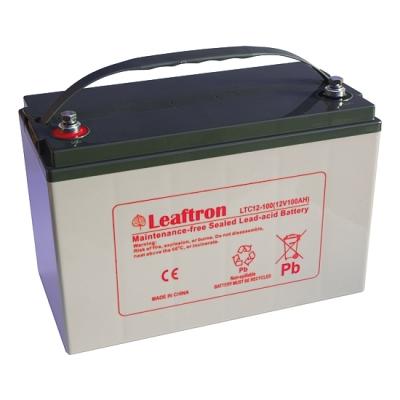 LTL12-100 Bezúdržbový 12V akumulátor pro evakuační rozhlas, kapacita 100Ah
