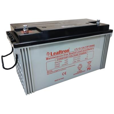LTL12-120 Bezúdržbový 12V akumulátor pro evakuační rozhlas, kapacita 120Ah