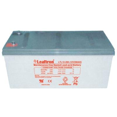 LTL12-200 Bezúdržbový 12V akumulátor pro evakuační rozhlas, kapacita 200Ah