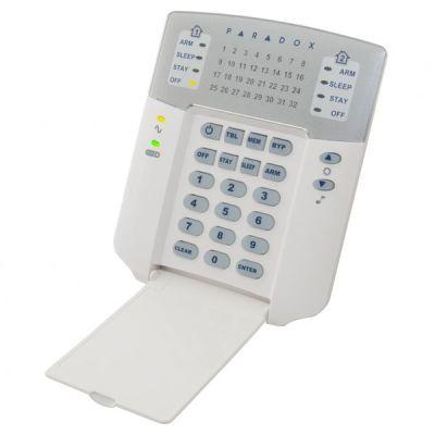 K32+ Ovládací klávesnice sLED displejem pro ústředny SPECTRA