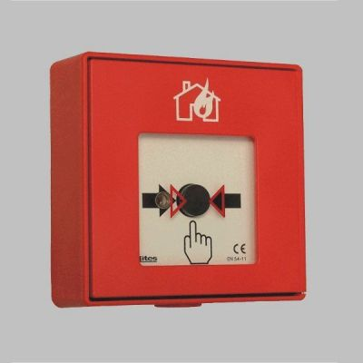 MHA-108.132-N UKONČENÁ VÝROBA - Konvenční tlačítkový hlásič - napěťový