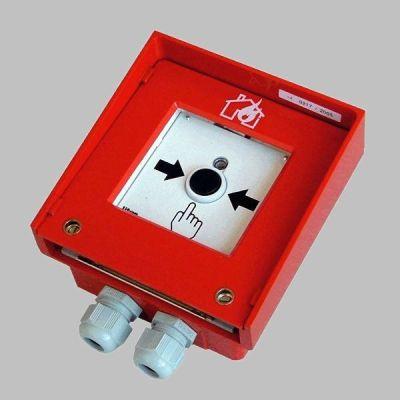 MHA-144-T UKONČENÁ VÝROBA - Adresný tlačítkový hlásič do průmyslového prostředí