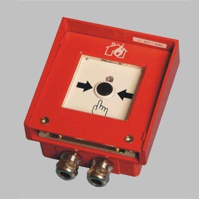 MHA-184-Ex Adresný/konvenční tlačítkový hlásič do výbušného prostředí