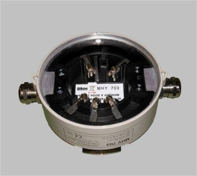 MHY-703-Ex Montážní patice konvenčních detektorů pro výbušné prostředí