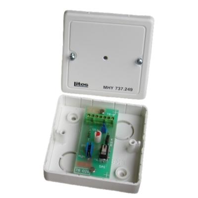 MHY-737.249 DO VYPRODÁNÍ - Indikační přípravek pro lineární detektory MHG-661/662, IP40