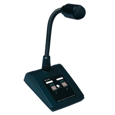 MICPAT-2 Mikrofonní stanice na stůl, 2 zóny