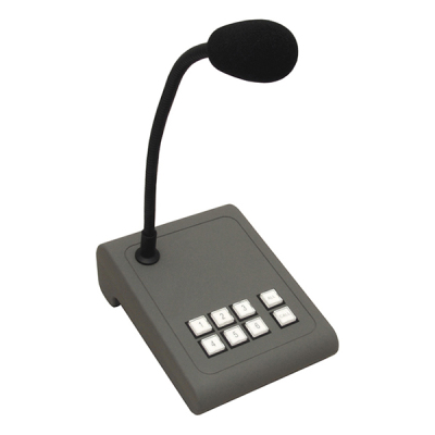 MICPAT-6 Mikrofonní stanice na stůl, 6 zón