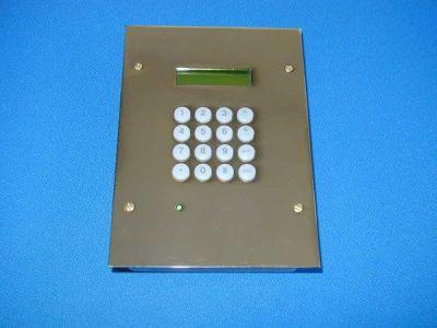 MK-7-BRASS Podomítková LCD klávesnice pro ústředny GALAXY