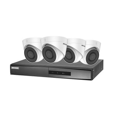 NK42E2H-1T(WD) Set NVR (PoE, 4 kanály, bez HDD) + 4x venkovní dome IP kamera (2 MPx)