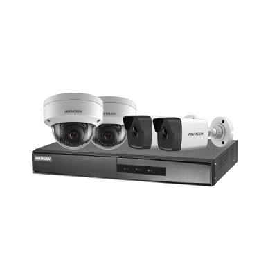 NK42E3H-1T(WD) Set NVR (PoE, 4 kanály, bez HDD) + 2x dome + 2x bullet IP kamera (venkovní, 2 MPx)