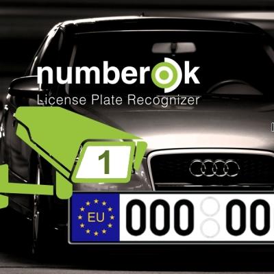 NOK-LITE-1-EU Licence SW rozpoznávání registračních značek na 1 kameře (EU)