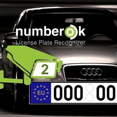 NOK-LITE-2-EU Licence SW rozpoznávání registračních značek na 2 kamerách (EU)