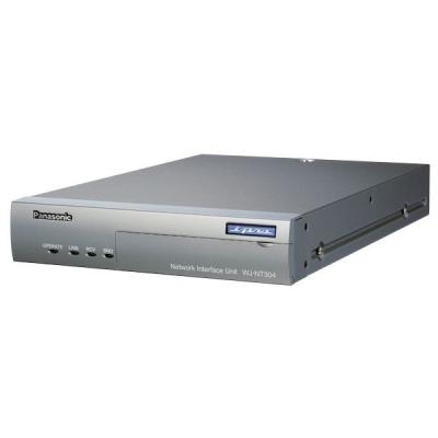 NT-304-G Videoserver pro vysílání 4 A/V signálů po LAN