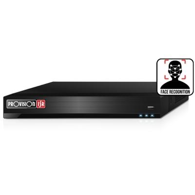 NVR8-16400F(1U) Síťový NVR záznam, 16 IP kamer, (bez HDD), rozpoznání obličeje