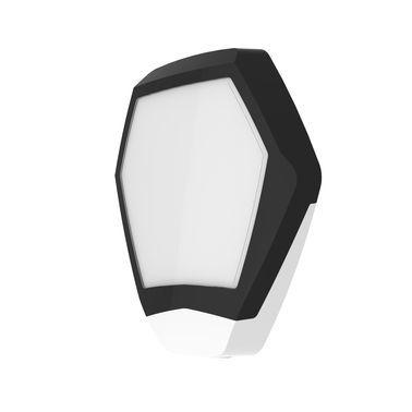 ODYSSEY-X3-BL/WH Černý šestihranný kryt sirény s bílým blikačem
