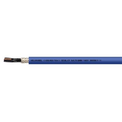 OZ-BL-CY 2x0,75 Kabel pro jiskrově bezpečné obvody, balení 500m