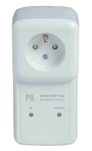 PA-OVER-F6 Přepěťová ochrana s VF filtrem pro zásuvku 230V