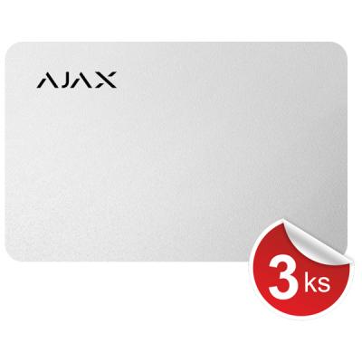 Pass-W-3 RFID karta bílá, balení 3ks