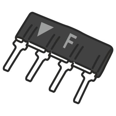 """PEU-F Odporová sada, ,,F"""" DSC (5.6K, 5.6K, 5.6K), 1ks"""