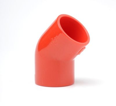 PIP-006 Červené koleno 45st pro trubky 25mm