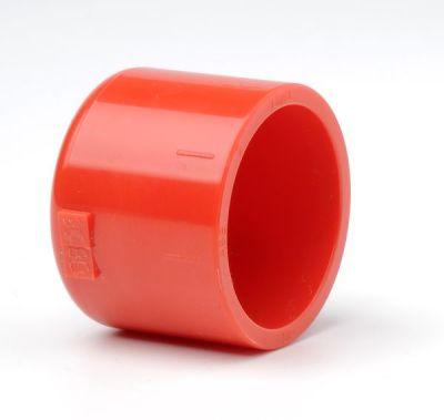 PIP-007 Červená ucpávka na konec trubky 25mm