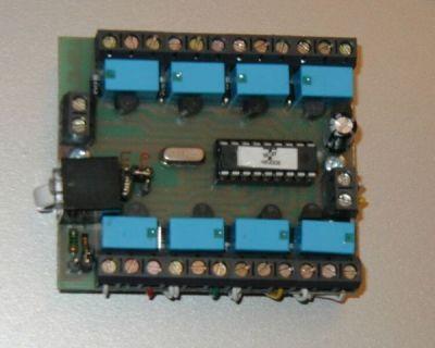 PM-R8 Přídavný modul 8 programovatelných reléových výstupů