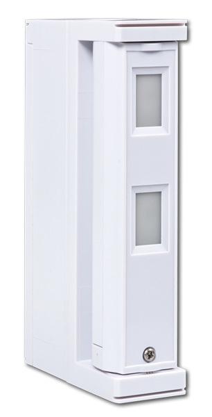 PR-FTN-RW Venkovní bezdrátový infradetektor, dosah 5m záclona