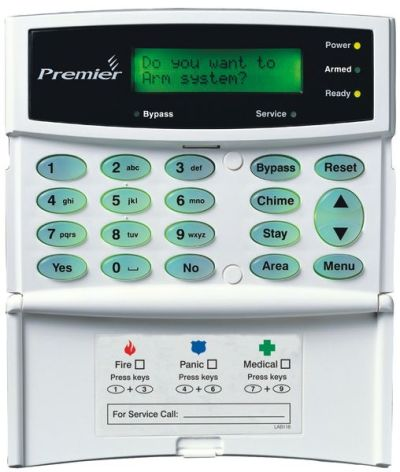 PR-LCD Ovládací klávesnice s LCD displejem