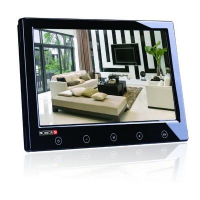 """PR-TFT9D-BL Barevný LCD monitor 9"""", 2x AV, černý"""