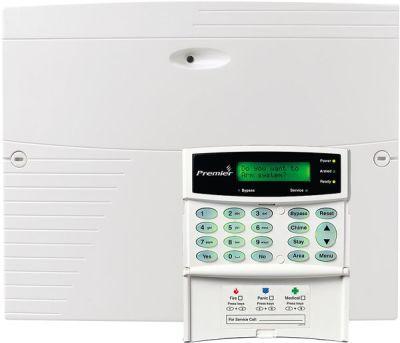 PREMIER-412-LCDp Zabezpečovací ústředna 4-12 smyček s LCD klávesnicí