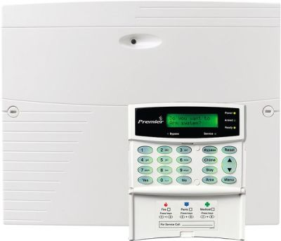 PREMIER-832-LCDp Zabezpečovací ústředna 8-32 smyček s LCD klávesnicí