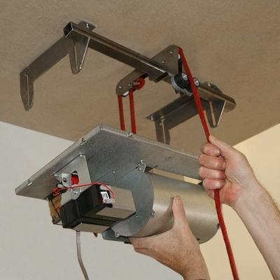 PROTECT-HOIST Kladkostroj pro generátory mlhy PROTECT