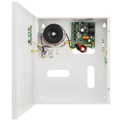 PSBS-3012C Zdroj 13,8V v krytu s prostorem pro AKU 17Ah, proud 3A, výstupy
