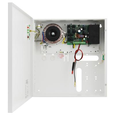 PSBS-5012C Zdroj 13,8V v krytu s prostorem pro AKU 17Ah, proud 5A, výstupy