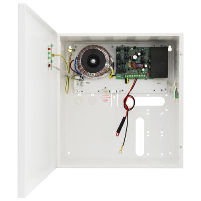 PSBS-5012D Zdroj 13,8V v krytu s prostorem pro AKU 40Ah, proud 5A, výstupy