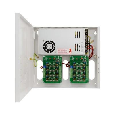 PSDC-161220 Napájecí zdroj pro 16 kamer, 12VDC - 20A