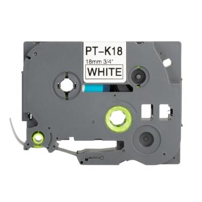 PT-TAPE18-BW Kazeta s laminovanou páskou k tiskárně PT-P700