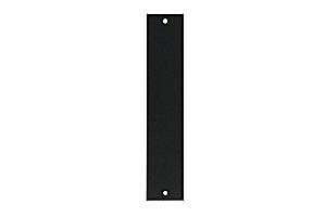 """PVR-1-RM Záslepka 1 modul pro 19"""" RACK panel"""