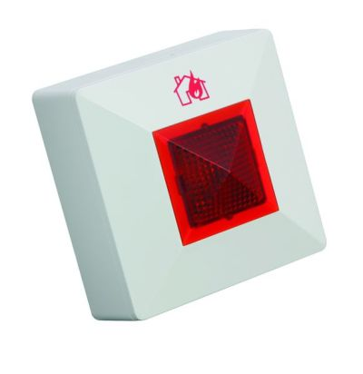 REM/C/B Paralelní požární signalizace s bzučákem, červená LED