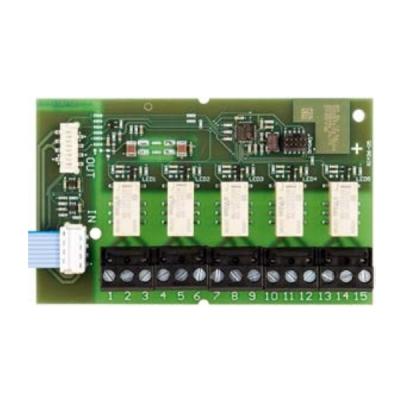 RIM-36 SECURITON přídavný 5-kanálový releový modul pro jednotku ASD-531