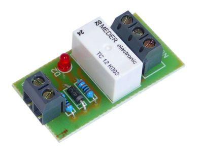 RO-1S 12V 12V reléový obvod se svorkovnicí