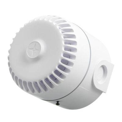 ROLP/W/D Dvoutónová bílá plastová siréna, vysoká EN54-3