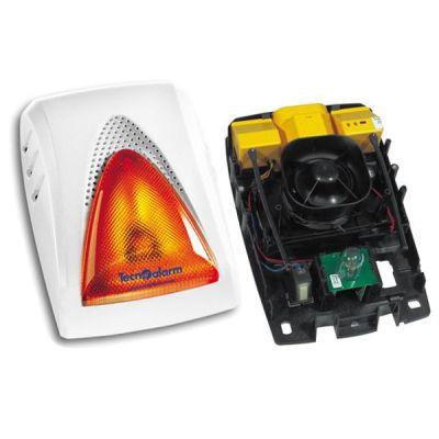 SAEL-2000-WL Bezdrátová siréna se žárovkovým blikačem, 103db, obousměrná komunikace
