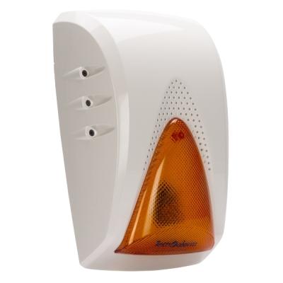SAEL-2010-BUS/W Venkovní zálohovaná siréna s LED blikačem, BUS, 103dB